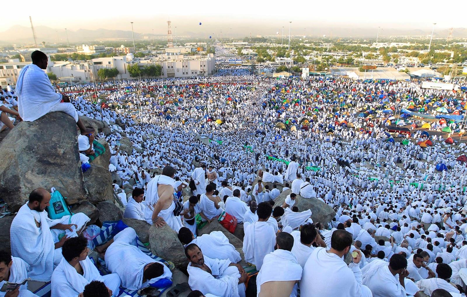 Benarkah Haji Hanya dengan Wukuf di Arafah?
